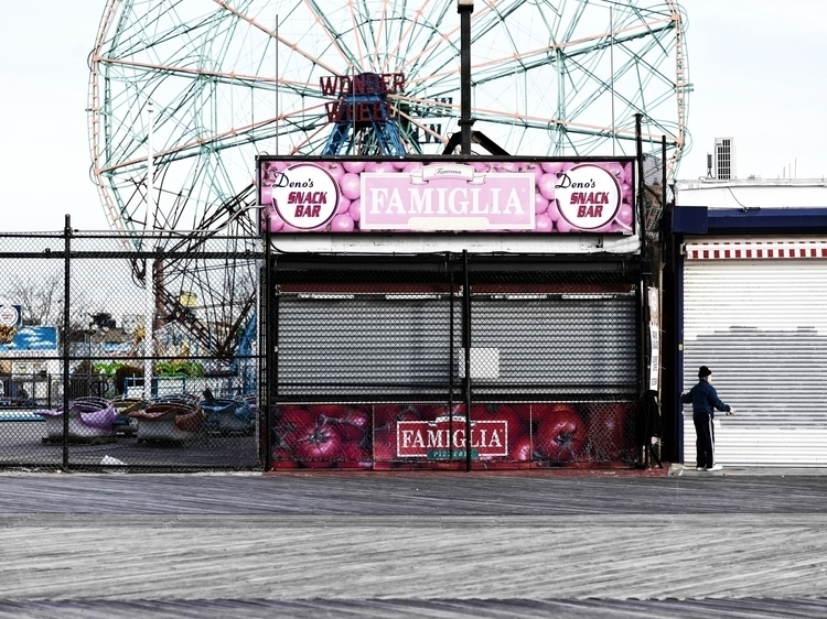 Photo Coney Island boardwalk - photography - jfober | ello