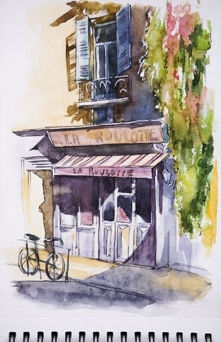 Toulouse, France - painting, illustration - kamieshkova | ello