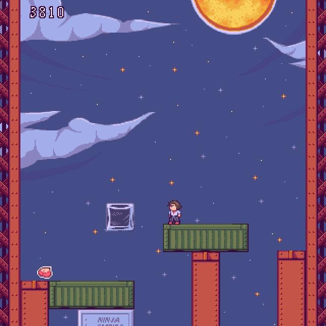 screenshot game Alex Oppai frie - evileagles | ello