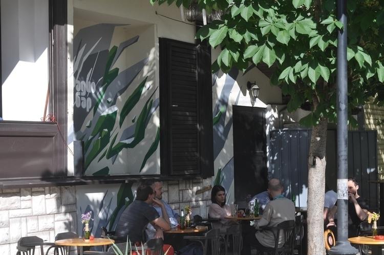 Radio Bar / Mural - design, painting - organism-4233 | ello