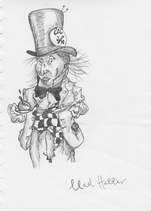 Mad Hatter - alicebruce | ello