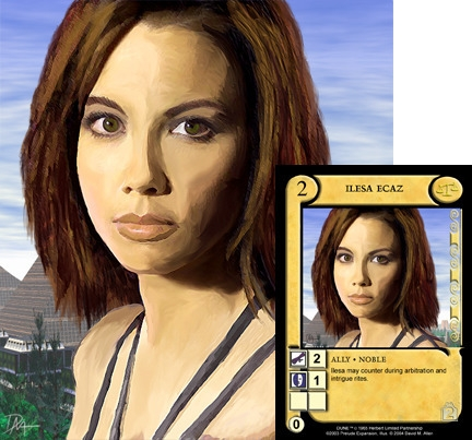 Card art Prelude Dune CCG expan - dallen88 | ello