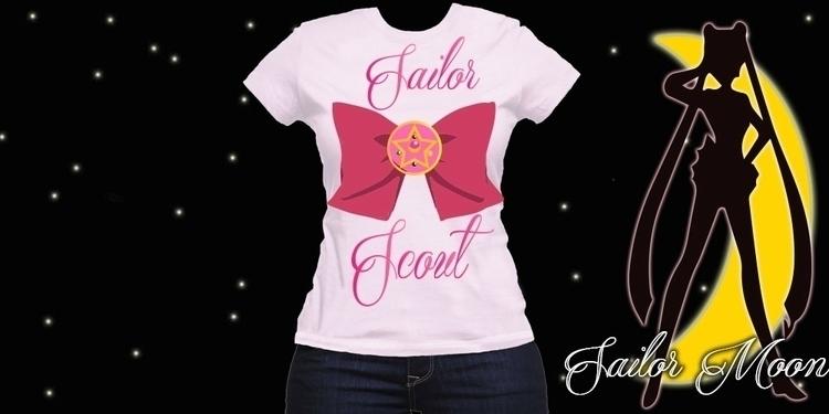 Sailor Scout tee - graphicdesign - mandidennie | ello
