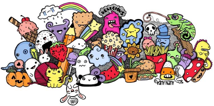 Doodles design. find stores sup - vanynany | ello