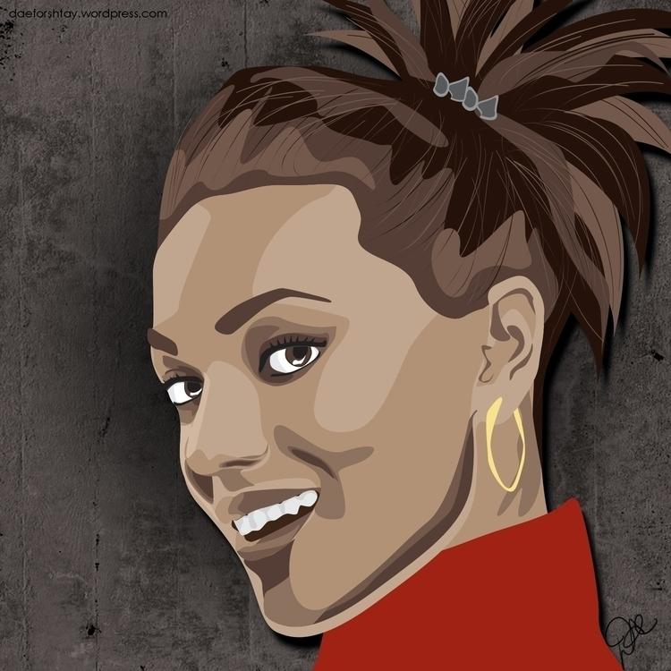 Martha Jones - illustration, drwho - daeforshtay | ello