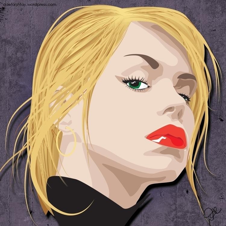 Rose Tyler - illustration, drwho - daeforshtay | ello
