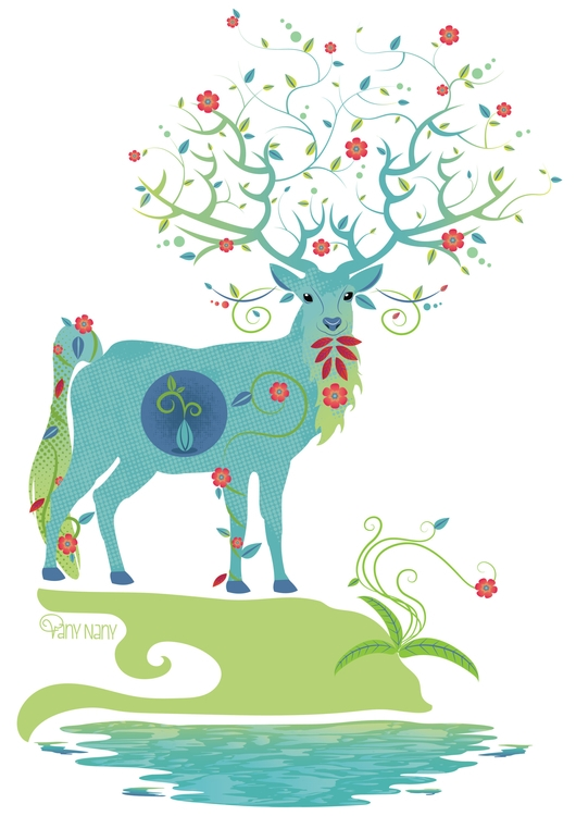 Mystical Deer find stores suppo - vanynany | ello