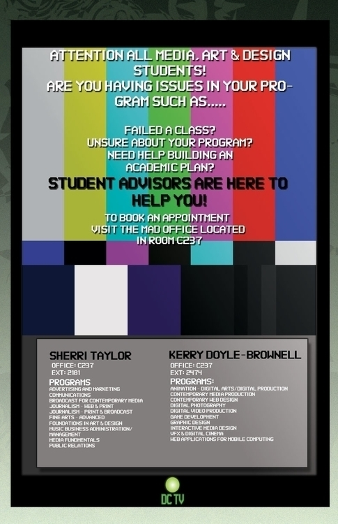Student Advisor posters - posterdesign - mandidennie | ello