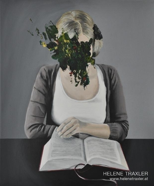 portrait thoughts /3 -- paintin - helenetraxler | ello