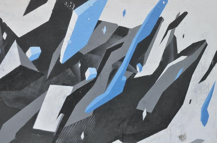 Graffiti Shoot / Black Blue 201 - organism-4233 | ello