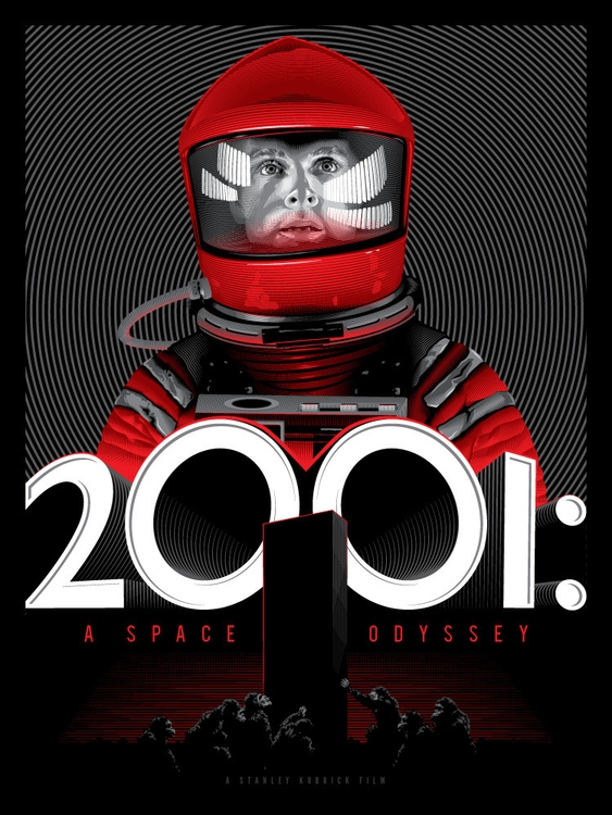 2001: Space Odyssey - movieposter - tracieching | ello