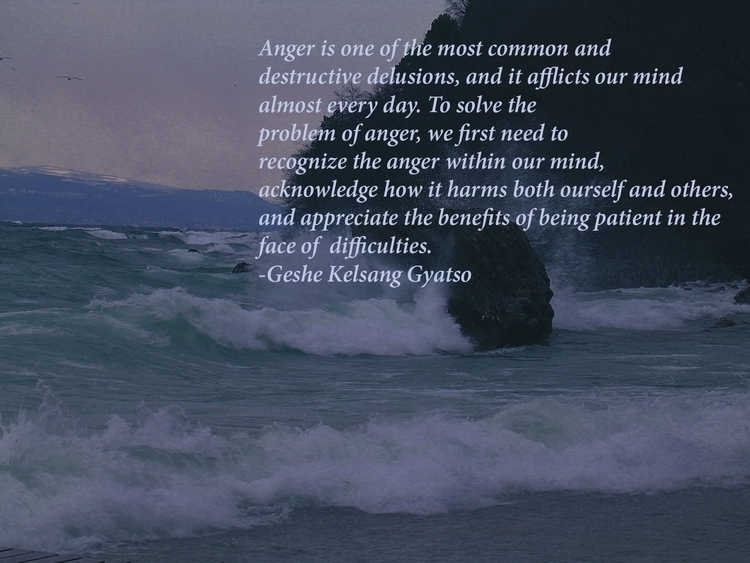 Buddhist quote anger - buddhism - mandidennie | ello