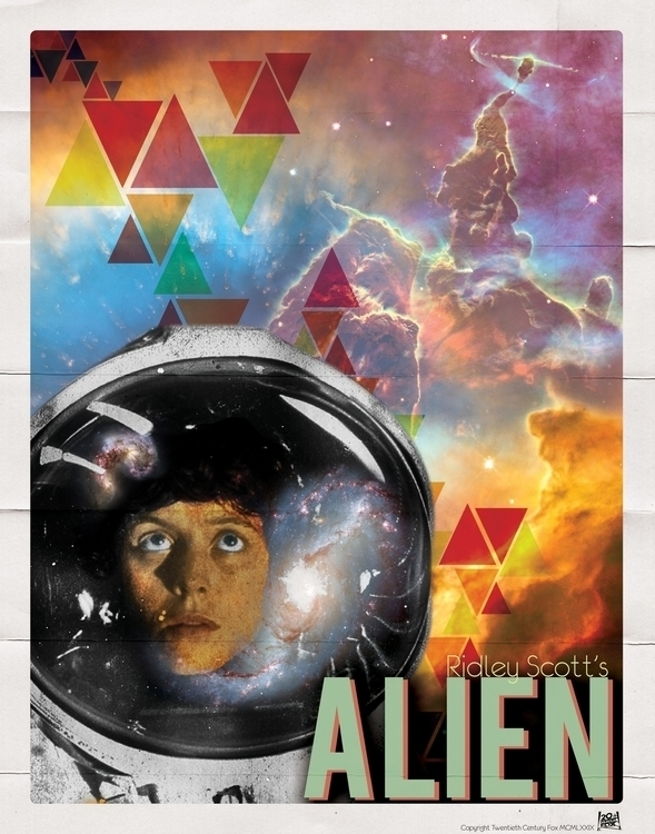 Alien - MoviePoster, alternativemovieposter - daeforshtay | ello