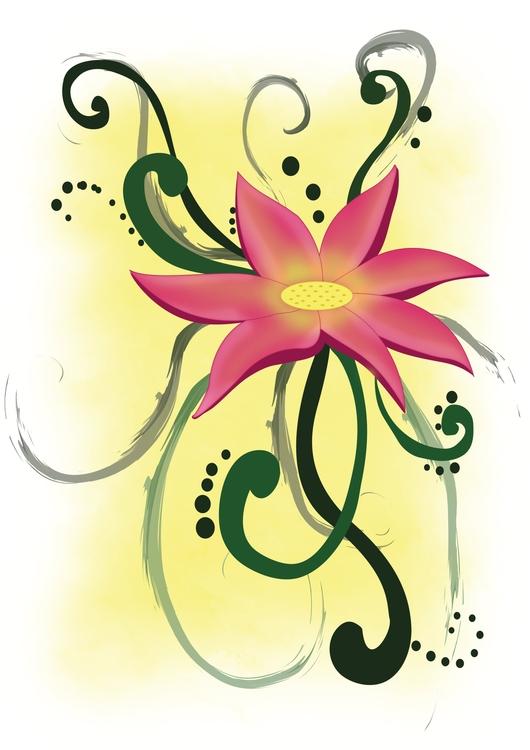 Doodle Flower design. find stor - vanynany | ello