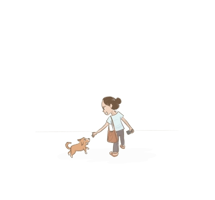 illustration, dog, doggie, happiness - soumya-3655 | ello