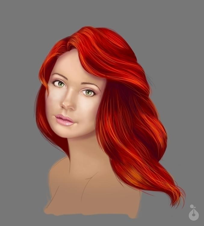 Mermaid - mermaid, illustration - nancylee-4624 | ello