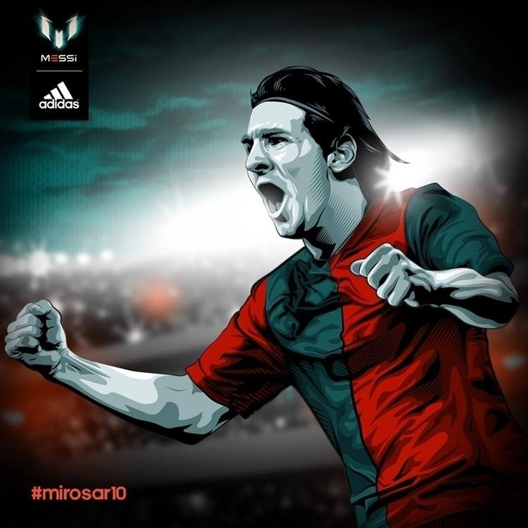 Adidas - Messi Mirosar Campaign - tracieching | ello