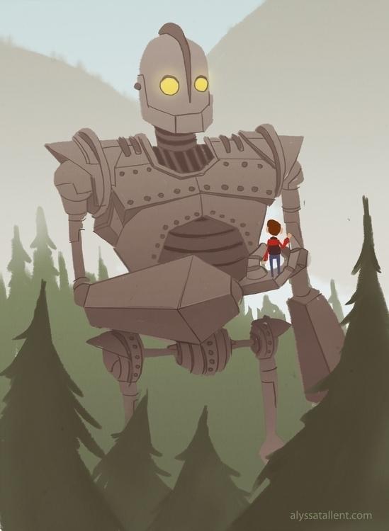Iron Giant - irongiant, sketch_dailies - alyssatallent | ello