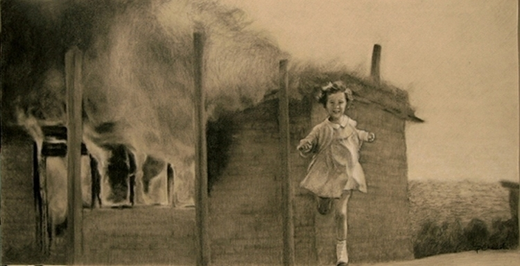 Jane Run - Drawing, Illustration - pk-1303 | ello