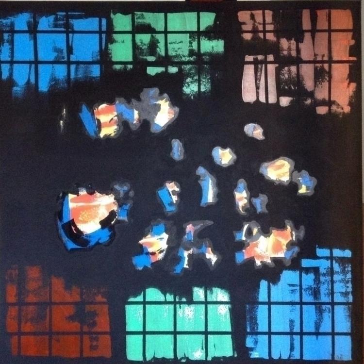 BEGINNING acrylic canvas 120.12 - pacofalco | ello