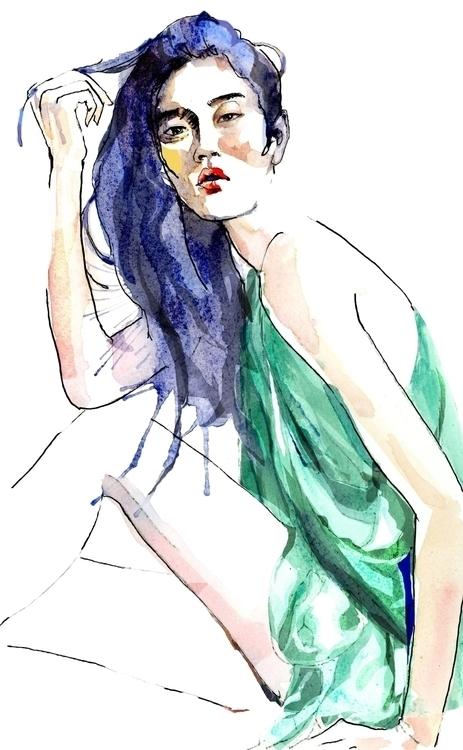 Mengyao Xi Chinese fashion mode - ken-1370 | ello