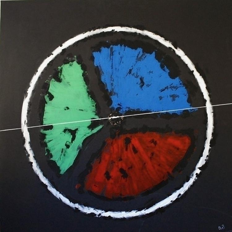 LHC acrilic canvas 120.120 cm - cms - pacofalco | ello