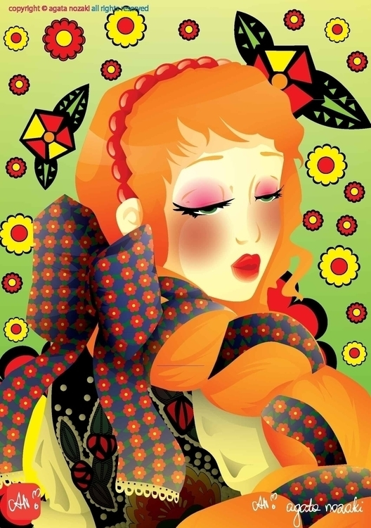 Polish Folklore Girl - folklore - anozaki | ello