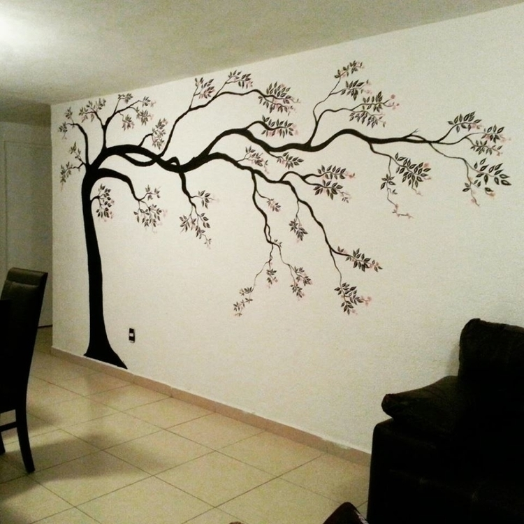 Tree... Mural painting - michellecortazar10 | ello
