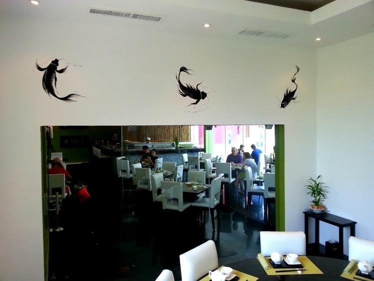 Japanese Koi fish mural paintin - michellecortazar10 | ello