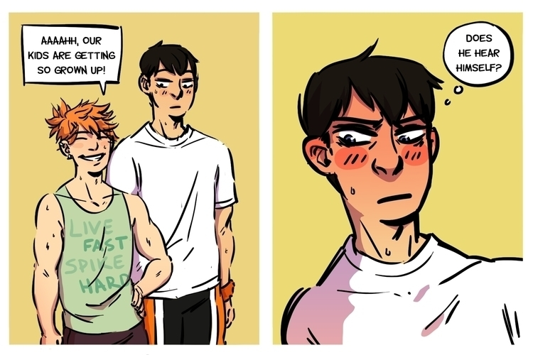 Kageyama eternally embarrassed - rachelpoulson | ello