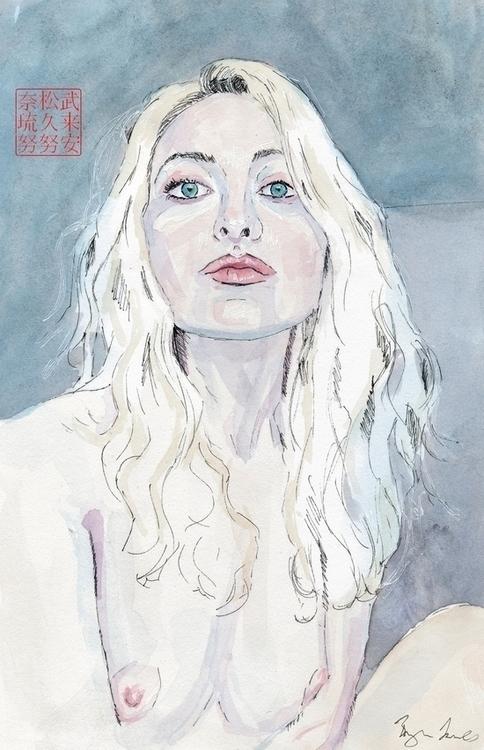 Portrait Theadora - portrait, pale - bryanjames-5485 | ello