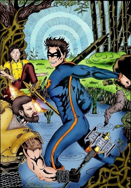 Parshu - Superhero Color Shahab - shahab01 | ello