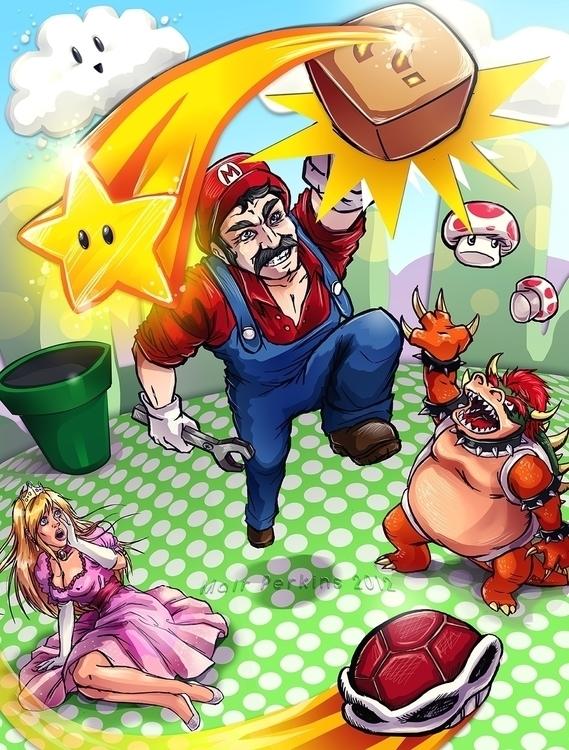 Super Mario realism - supermario - mairperkins | ello
