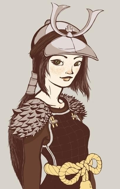 warrior princesses: princess - digitalillustration - missaoki | ello