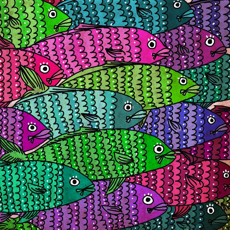 Feeling Sushi 2 Digital Illustr - lucylodraws   ello
