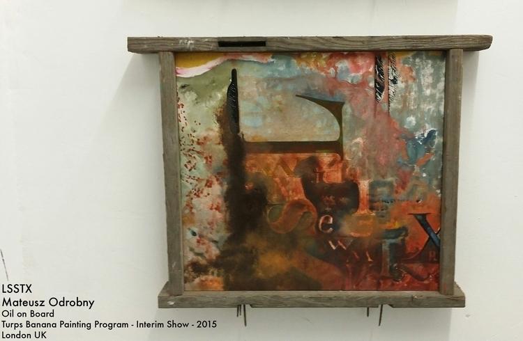 LSSTX Oil Board Custom Frame - painting - mjoarts | ello