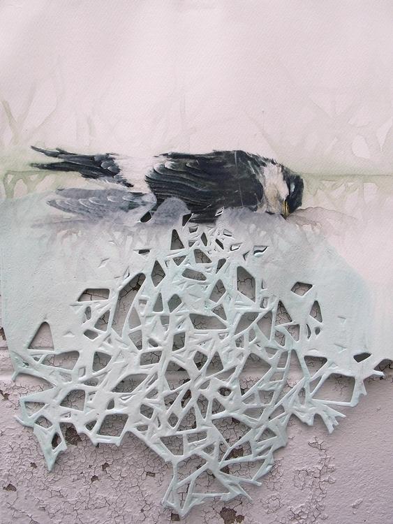 aquarelle paper aprox 35X25cm - saritaboomerangdecor | ello