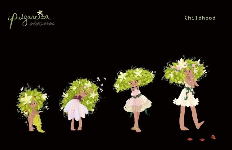 Character Costume design Pulgar - katiagrifols | ello