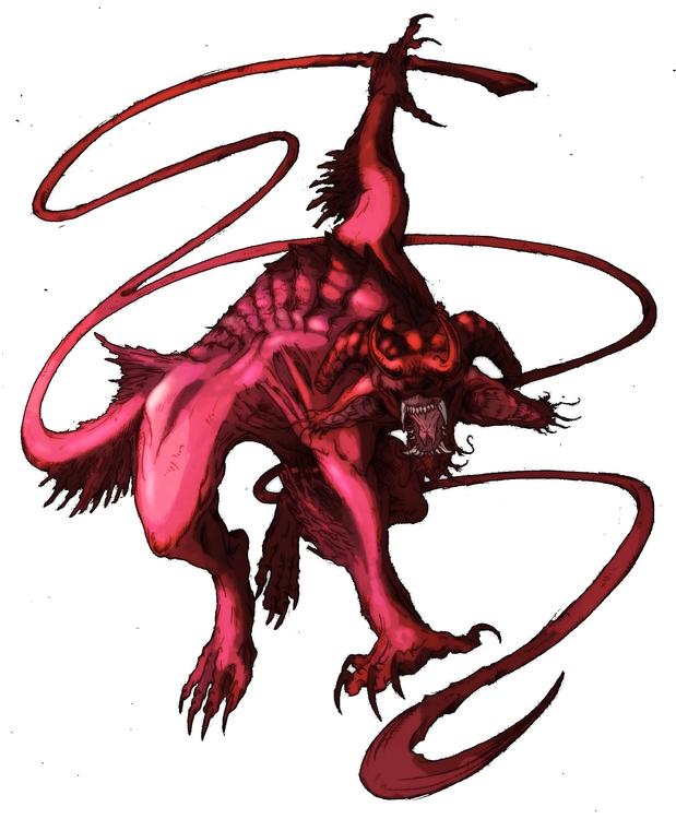 Demon - illustration, characterdesign - feradami | ello