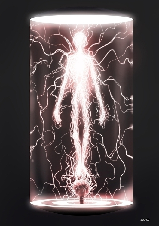 ELECTRICITY - illustration, characterdesign - juanco-1165   ello