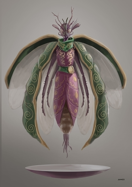 INSECTS - illustration, characterdesign - juanco-1165 | ello