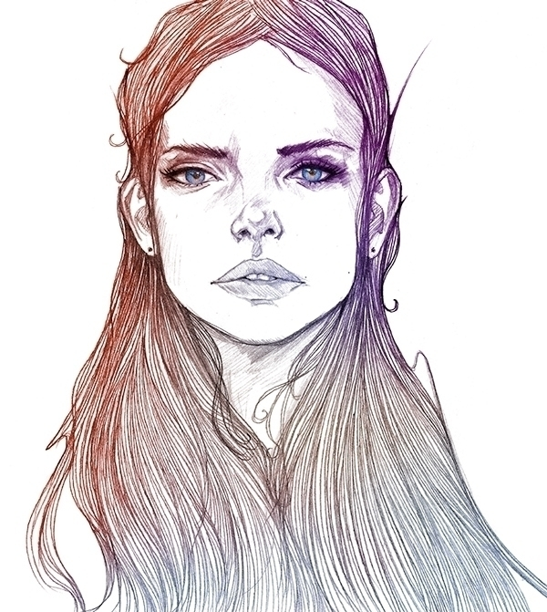 Jennifer - illustration, fashion - evensillustration | ello