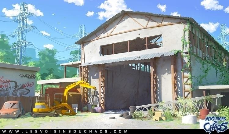 Background webcomic - environmentconcept - tohad | ello