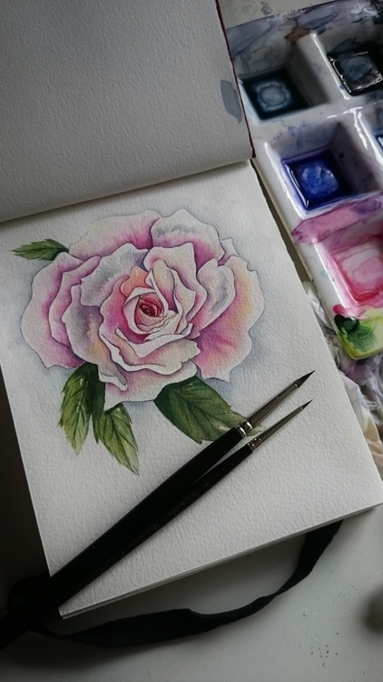 Flowers, Watercolor, Paint - samesjc | ello