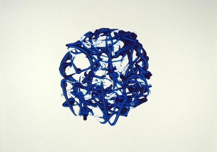 Sphere Acrylic paper - lydiacanizares | ello