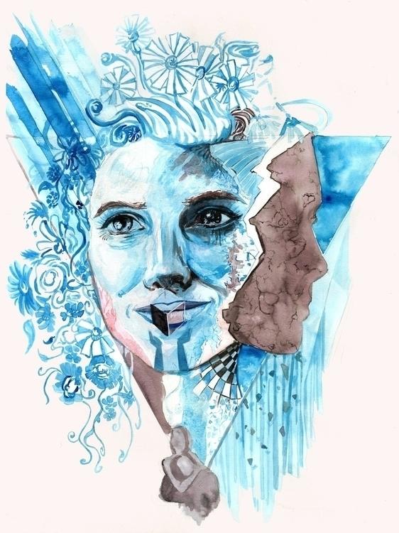 Fragile - human condition - illustration - kyleand | ello