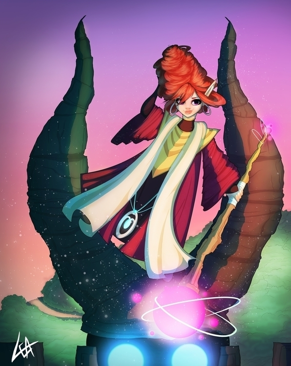 Lulu, Fae Sorceress Lulu Sorcer - leassel | ello