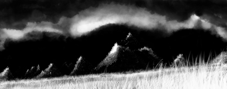 Hills Aleria Concept - digitalart - avereechaloupka | ello