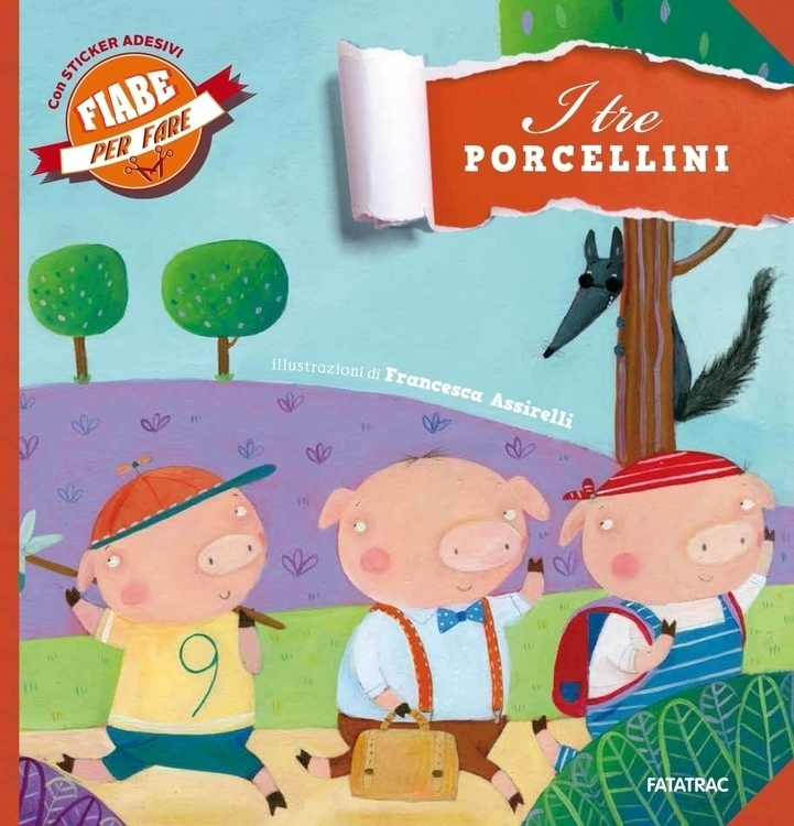 illustration, pig, fables, fatatrac - francescaassirelli | ello