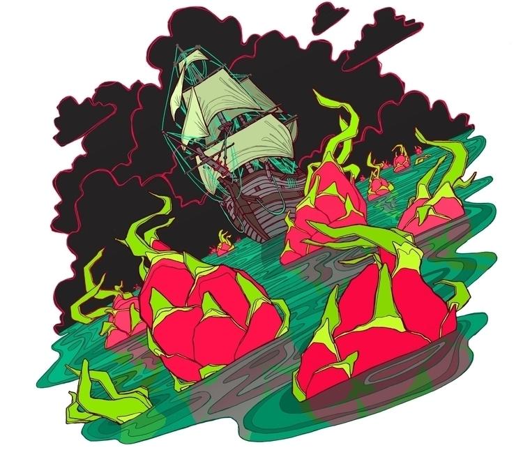 Dragonfruit - dragonfruit, ship - brennathummler | ello